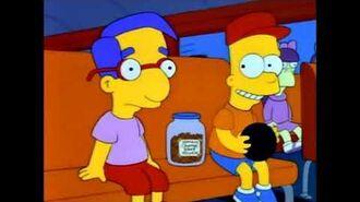 OS SIMPSONS 3ª Temporada EP 23 Os Amigos de Bart se Apaixonam