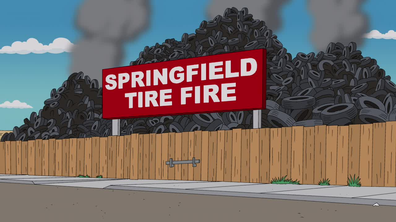 Mr Tire Locations >> Springfield Tire Yard   Simpsons Wiki   FANDOM powered by ...