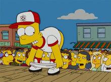 Bart beisebol bunda população