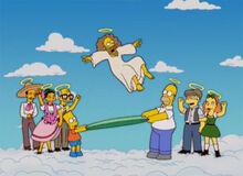Bart homer curtindo jesus
