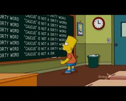 Ten Per Cent Solution Chalkboard Gag