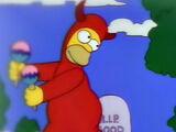 Homer mal