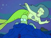 Homer sereia sonho