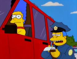 Marge Simpson in Screaming Yellow Honkers