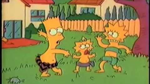 Simpsons Shorts-MG46 Bart Of The Jungle (FROM ORIGINAL AIRING ON FOX)-0