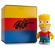 Bart 25th anniversary toy