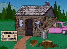 Homer destroi casa groening