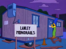 Lyle lanley vagão escritório