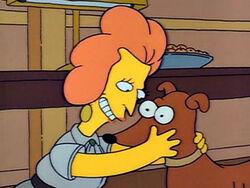 Pies Barta dostaje dwóję