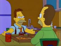 Abe i młody Homer
