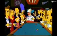 At Krusty's Reunion Party