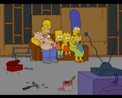 He Loves To Fly Couch Gag