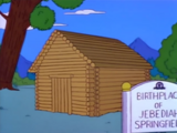 Birthplace of Jebediah Springfield