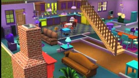 Planta da casa dos Simpsons