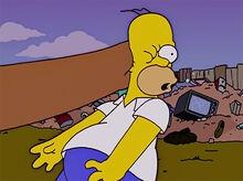 Homer patada de urso 15x05