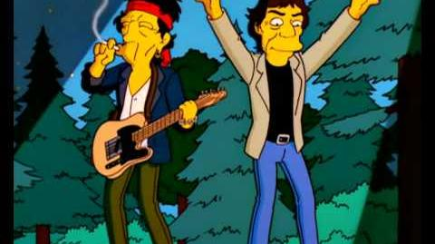 The Simpsons Season 14 Episode clip from 'How I Spent My Strummer Vacation'