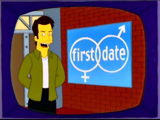 Simpsons Dating Show cours de rencontres pour les jeunes