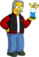 Matt Groening Tapped Out
