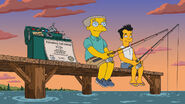 The burns cage - smithers and julio 2