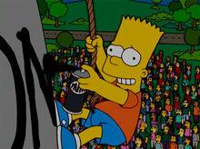 Bart pichando cx dagua 18x18 2