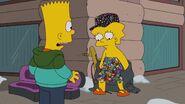 Lisa clothes covered mascot pins