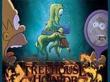 O cartaz de Casa da Árvore dos Horrores XXX tem referências a Stranger Things e A forma da Água