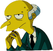 Charles Montgomery Burns in The Simpsons Movie