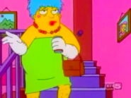 Barney Gumble as Marge Simpson
