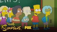 Bart Gets In Trouble For Making Up Lyrics To The Class Song Season 28 Ep
