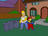 HomerAndNed'sHailMaryPass-Homer&Mario