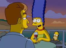 Homer espiona marge encontro