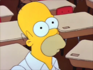 Homer stares