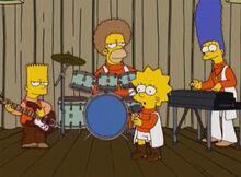 Simpsons banda anos70