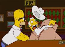 Homer quedadebraço imbativel