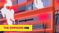 "THE SIMPSONS Power Failure from ""Mathlete's Feat"" ANIMATION on FOX"