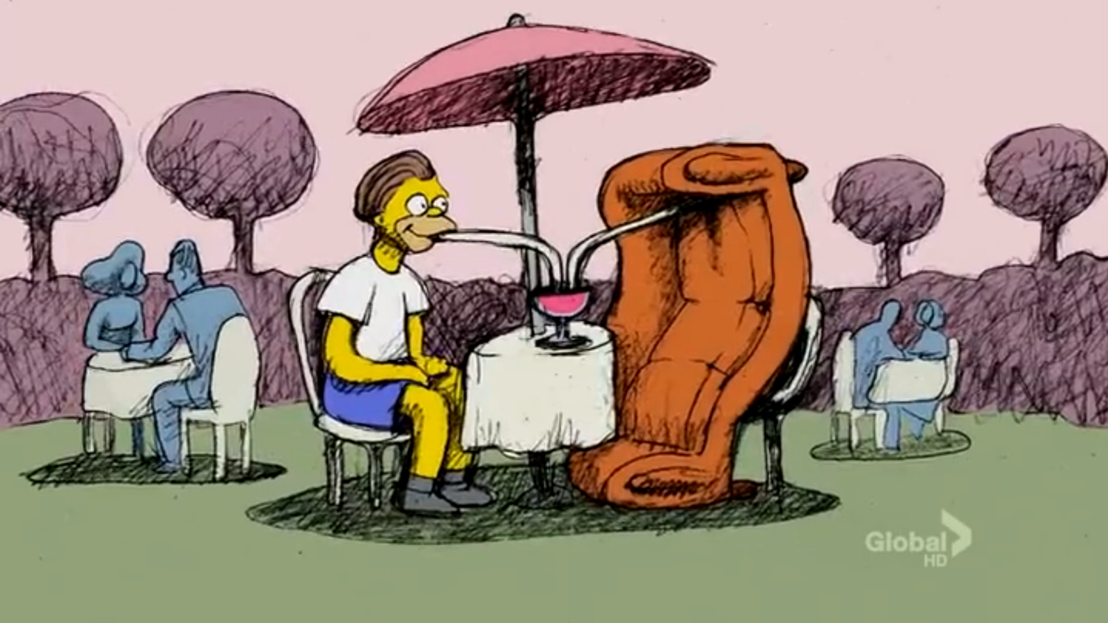 Swell First Bill Plympton Couch Gag Simpsons Wiki Fandom Unemploymentrelief Wooden Chair Designs For Living Room Unemploymentrelieforg