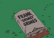 Frank Grimes Grimey Tombstone in My Mother the Carjacker