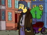 Mr. Burns' Vagrant Victim