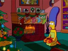 Marge presente natal