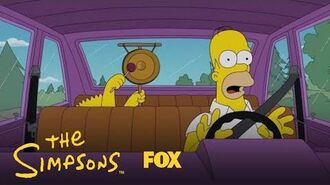 Bart Distracts Homer While Driving Season 29 Ep. 15 THE SIMPSONS