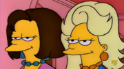 Patty and Selma's new hairstyles