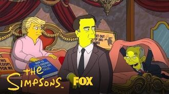 125 Days Donald Trump Makes One Last Try To Patch Things Up With Comey Season 28 THE SIMPSONS