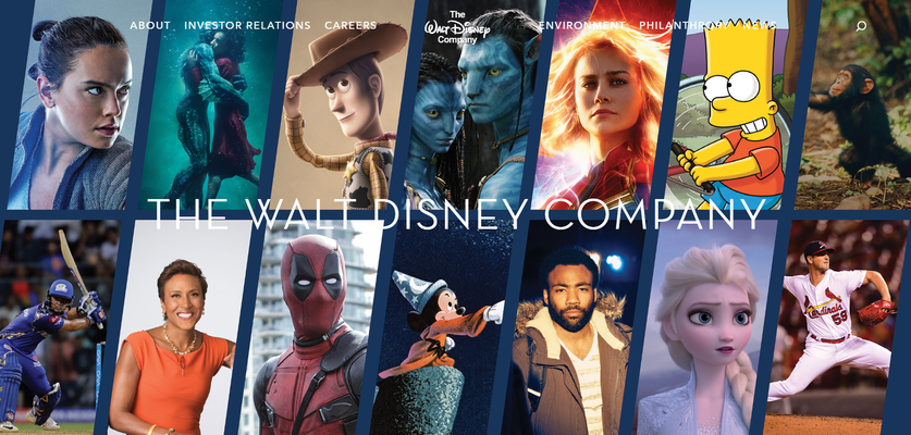 Fox e disney site