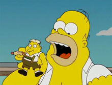 Homer monstro come uter zorker