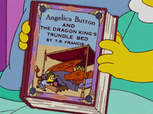 Livro angelica button dragão lisa