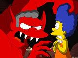 Moe-looking Satan