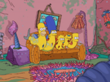 The Shrimpsons couch gag