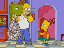 Homer bolas de volei bart celular