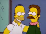 Homer e Ned