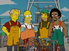 Homer e os pescadores